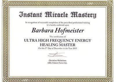 UHF-Energy-Healing-Master